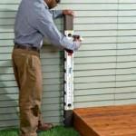 Install railing support brackets
