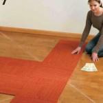 Install Carpet Squares 8